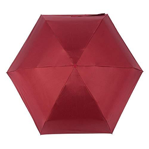 PZXY Regenschirm Frauen Kleine kreative Sun Black Gel-Kapsel Regenschirm Sonnenschirm