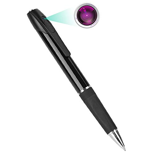 Kaleser Mini Hidden Pen Camera 1080P HD Recording (with 32 GB Memory Card)...