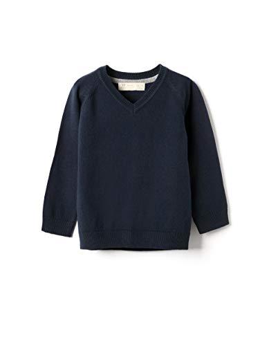 ZIPPY Baby-Jungen ZTB0201_470_8 Polo-Pullover, Black Iris 19-3921 Tc, 12/18M