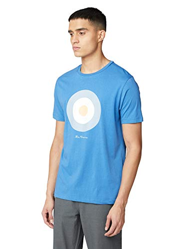 Ben Sherman Signature Target tee Camiseta, Azul (Blue 150), XXXX-Large para Hombre