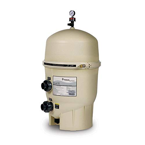 Pentair 188592 Quad Cartridge Style D.E. Pool Filter - 60 sq. ft. - 120 GPM