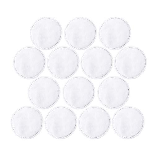 Lurrose 300 Pcs discos desmaquillantes Maquillaje Algodón Almohadillas de Algodón Facial Portátil
