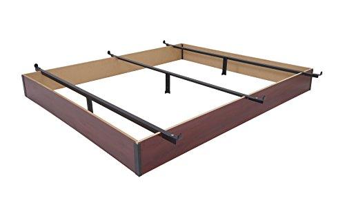 Mantua Wood Bed Base, Full, Cherry Finish,