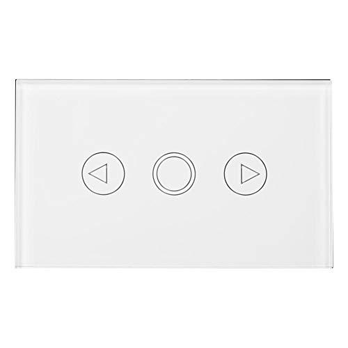 Regolatore Luce Dimmer Toca Controller Interruttore Regolatore Intensità Luci per la Lampada Parete LED AC110 - 240 V Pannello di Controllo Touch Parete Pannello Controllo LED Interrupto Bianco