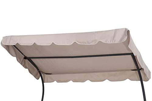 OUTFLEXX Ersatzdach für Leco Doppelliege, Creme, Polyester, 200x110cm