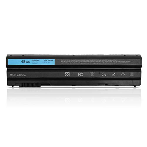 K KYUER 48Wh 8858x Ersatz Laptop Akku für Dell Latitude E6420 E6430 E6520 E6530 E5420 E5520 E5430 E5530 E6440 E6540 Inspiron 14R 15R 17R 5520 7720 312-1163 Vostro 3460 3560 T54FJ T54F3 KJ321 Battery