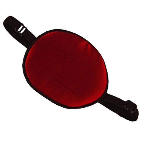 shentaotao Soft-Augen-Flecken Amblyopie Traning Brille Kind Single-Augen-Abdeckung Silk Eyeshade Sleeping Eyemask Einäugigen Abdeckung