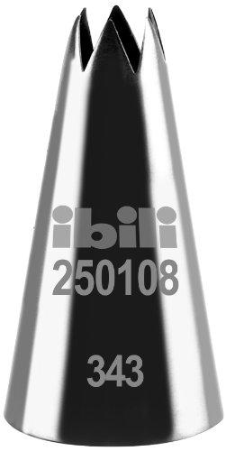 Ibili 250108 Douille de pâtisserie forme d'étoile 8 mm