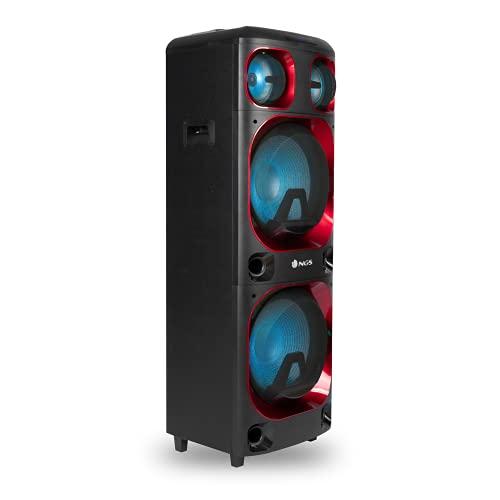 NGS Wild Ska 2 - Altavoz portátil de 800W Compatible con Tecnología...