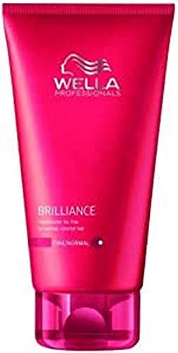 WELLA Care Brilliance Conditioner für feines bis normales, coloriertes Haar, 1er Pack (1 x 200 ml)