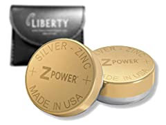 PURCHASE INCLUDES - 1 Size 312 ZPower Rechargeable Battery (2/Pack)
