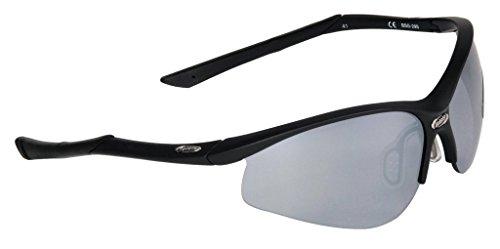 BBB Uni Sonnenbrille Attacker  BSG-29S, mattschwarz, 880252961