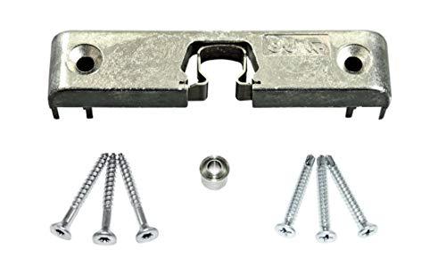 GU Türschnäpper/Balkontürschnäpper/Fensterschnäpper 9-40051-00 (6-30568-00-0-1) inclusive Rollzapfen & SN-TEC Montagematerial