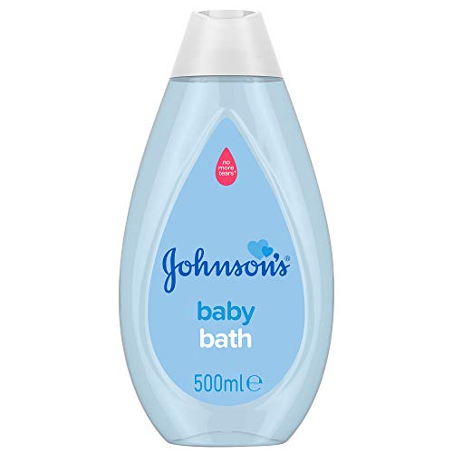 Johnson's Baby Bath 500 ml – Gentle and Mild for Delicate Skin and Everyday Use – pH Balanced for Delicate Skin, Multi, Pack of 1