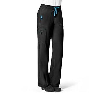 Carhartt Plus Size Cross-Flex Women s Utility Scrub Pant Black 2X-Large Tall