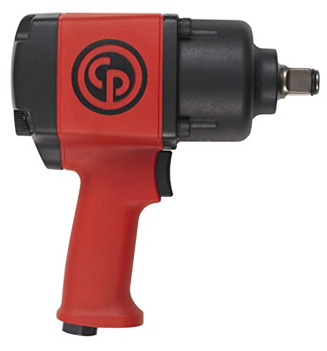 Chicago Pneumatic CP7763 Heavy Duty High Power Impact Wrench with Ring Retainer, 3/4-Inch Drive
