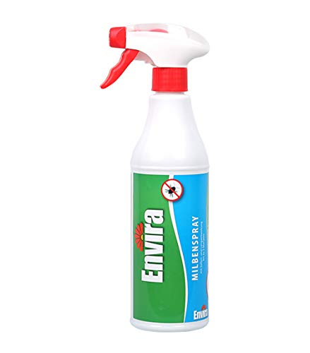 Envira Anti-Milbenspray 500ml - Anti-Milben-Mittel Mit Langzeitwirkung - Geruchlos & Auf Wasserbasis