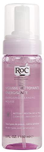 RoC - Energizing Cleansing Mousse - Reinigungsschaum - Saubere und glatte Haut - Für alle Hauttypen - Belebt die Haut - 150 ml