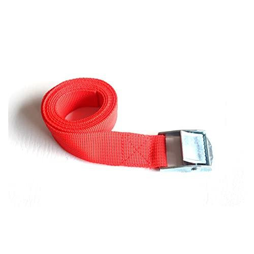 2 m nylon corda della cintura della tensione della corda della corda del cinghia della cinghia della cinghia della fibbia della cinghia della cinghia della cinghia della fibbia per le borse da campegg