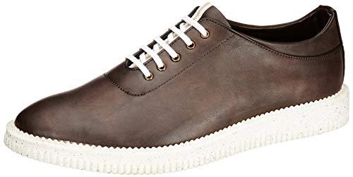Amazon Brand - Symbol Men's Brown Synthetic Sneakers - 6 UK (AZ-KY-102A)