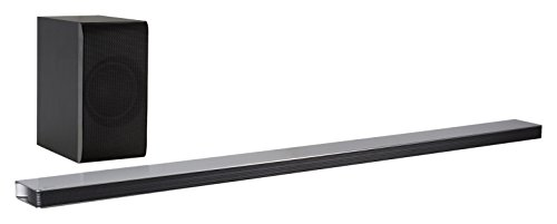 LG SJ8 - Barra de Sonido inalámbrica (4.1 Channels, 300 W, DTS Digital Surround,Dolby Digital, 130 W, Active Subwoofer, 170 W) Negro
