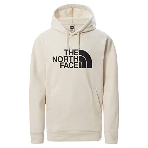 The North Face - Sudadera con Capucha y Forro Polar con Cremallera Completa Graphic Collection para Hombre - Vintage White, L
