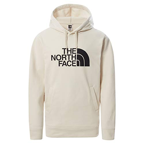 The North Face Sudadera con Capucha Half Dome para Hombre, Blanco, L