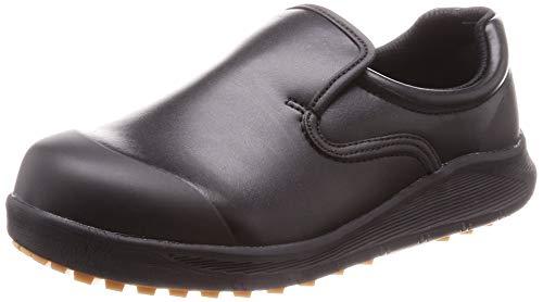[シモン] 作業靴 セーフティースニーカー 耐滑 防菌 防カビ 厨房 コックシューズ 軽量 SC117 黒 26 cm 3E