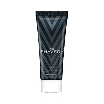 Amazon Brand – The Shavery Lather Shaving Cream (With Lime Oil, Shea Butter & Menthol Extract) – 100g