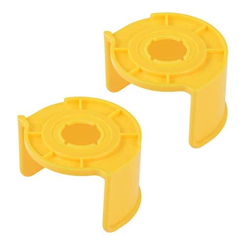 YeVhear - Interruptor de parada de emergencia de plástico (22 mm, 2 unidades), color amarillo