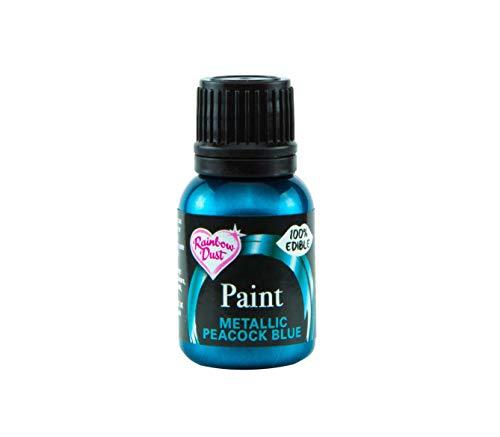 Rainbow Dust 12824 Metallic-Lebensmittelfarbe Midnight Blue 25ml
