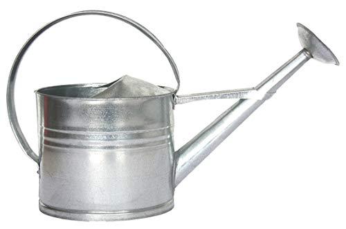Esschert Design Zink vattenkanna, medium, grå