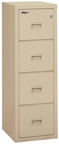 Fireking Turtle Fireproof File Cabinet, 52.75' H x 17.75' W x 22.13' D, Parchment