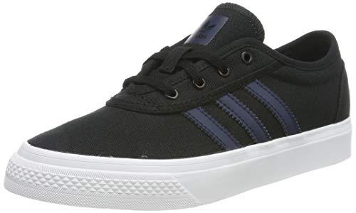 adidas Jungen Unisex-Kinder Adi-Ease J Skateboardschuhe, Schwarz (Core Black/Collegiate Navy/FTWR White Core Black/Collegiate Navy/FTWR White), 31 EU