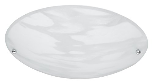 Trio Lana - Plafón, 40W, IP20, 370 lumens, E27, color aluminio