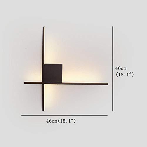 Nouveau design/Belle LED/Lampes murales et appliques de style nordique Salon/Chambre à coucher Applique murale en aluminium générique 12W / LED intégrée-blanc chaud générique