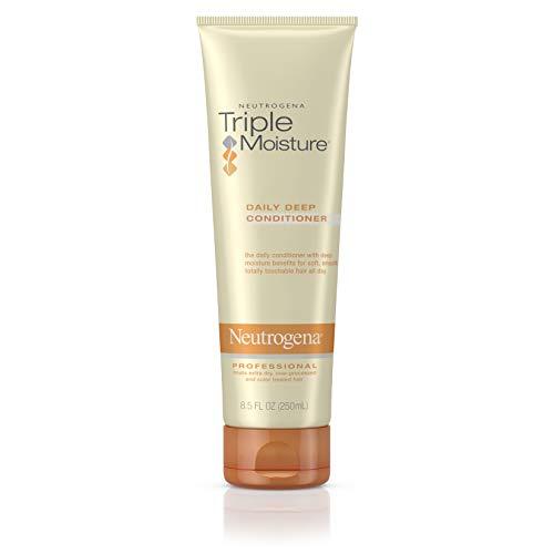 Neutrogena Triple Moisture Daily Deep Conditioner hydratant pour cheveux secs, 8.5 Fl. oz