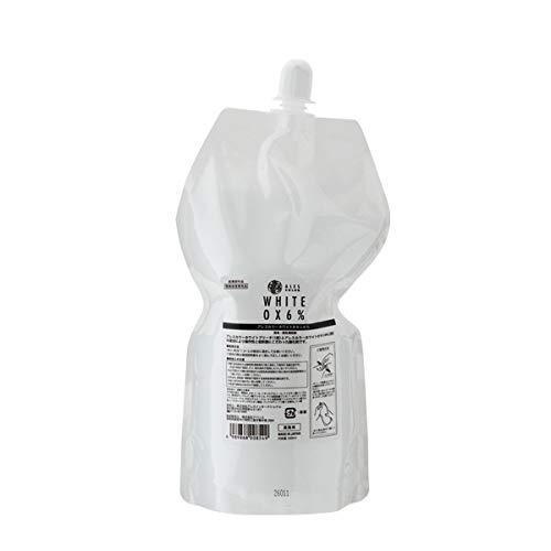 アレスカラー ホワイトオキシ6% 1000ml