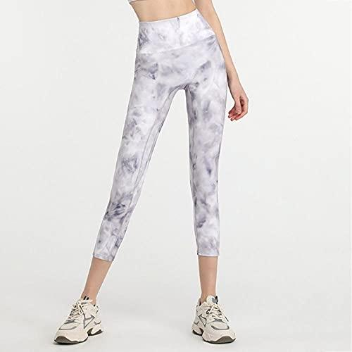 ArcherWlh Yoga Pantalones Mujer,Imprimir Pantalones de Yoga Coloridos Femenino con Cintura Alta Cadera Cerrada Color Fitness Leggings-Estrellas_SG