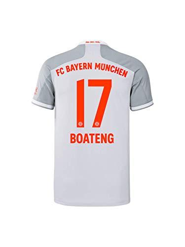 FC Bayern München Herren Away-Trikot Auswärts Saison 2020/21, Gr. XXL, JérômeBoateng