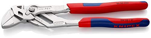 Knipex Zangenschlüssel - Greifzange und Schraubenschlüssel, 250 mm, Greifweite bis 46 mm