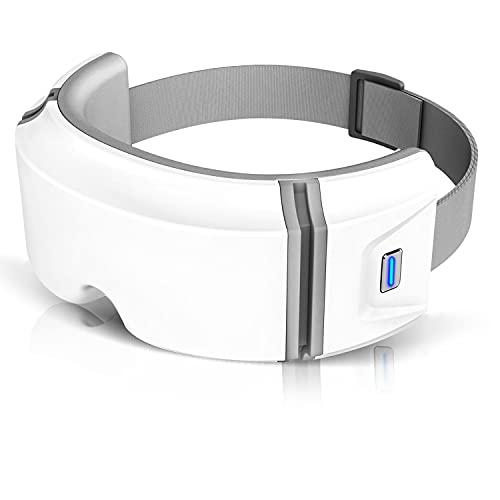 【2021年夏デビュー】YATWIN アイウォーマー 最新グラフェン加熱技術 目元エステ Bluetooth USB充電 音楽機能 日本語説明書 男女兼用 ギフト プレゼント 目元ケア 通気性 白