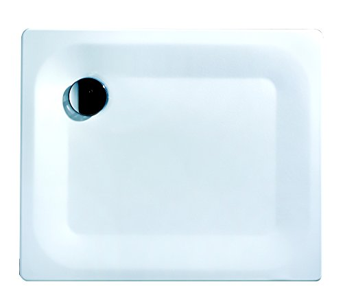 Stalen douchebak Sunda | Extra plat | 80 x 80 x 2,5 cm wit 90 x 75 x 2,5 cm 90 X 75 X 2,5 Cm | Excellence Extra Flach