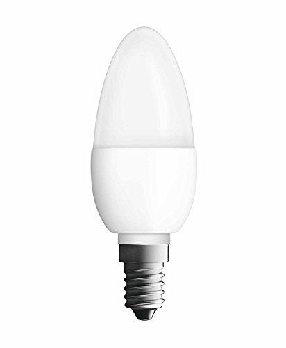 Osram Neolux Boîte Ampoule LED Flamme Dépolie 5,3 W E14 Plastique Blanc Chaud