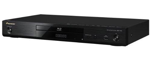Pioneer BDP-160-K 3D Blu-ray Player (HDMI, 1080p Upscaler, DLNA 1.5, App Control, WiFi, WiFi-Direct, USB, SACD) schwarz