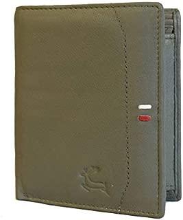 Leaderachi Leather Men's Wallet (Elche-Green)