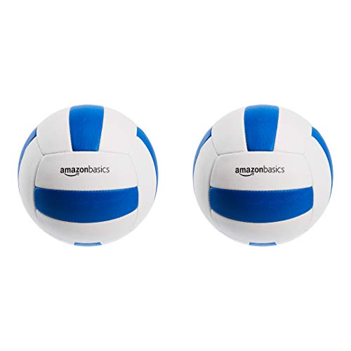 Amazon Basics Tour Volleyball - Size 5, 2-Pack