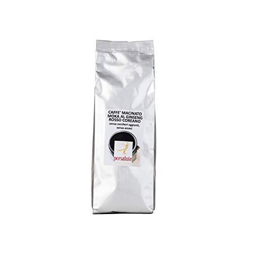 Caffè Macinato Moka al Ginseng Rosso Coreano puro, conf. 250g