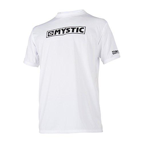 Mystic Étoile SS Loosefit Rapide à Dry Rapide à Dry Rash léger Débardeur Blanc. Respirant - Coupe Ample - Protection UV (UPF 50+)