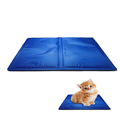 40*30cmkühlmatte Hund,kühlmatte Katzen,Pet Cooling Mat,Pet kühlmatte Bett,Ungiftiges Gel Kühlmatte Für Hunde und Katzen, Haustiere Matte zur Regulierung der Körpertemperatur..